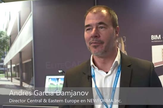 Nuomone apie BIM Forum Vilnius 2016 Andres Garcia Damjanov, New Forma