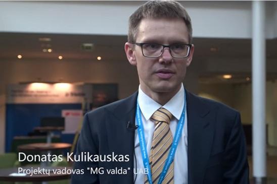 Nuomone apie BIM Forum Vilnius 2016 Dontas Kulikauskas, MG Valda