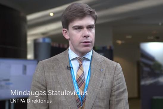 Nuomone apie BIM Forum Vilnius 2016 Mindaugas Statulevičius, LNTPA